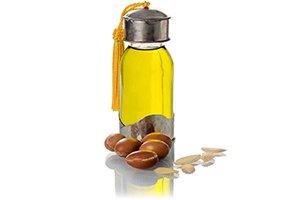 bouteille d'huile d'argan