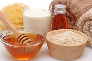 ingredients for body scrub