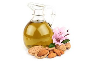 almond oil nuts and blossom