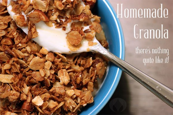 Olive Oil Granola With a Twist