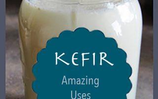 jar of milk kefir