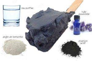masque charbon actif