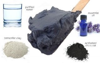 charcoal clay mask ingredients