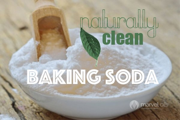 bowl of baking soda