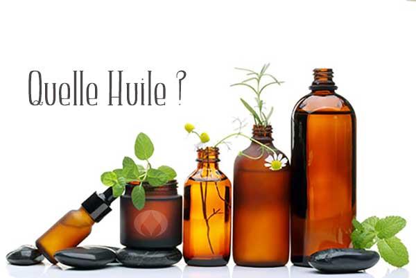 huiles pour la santé