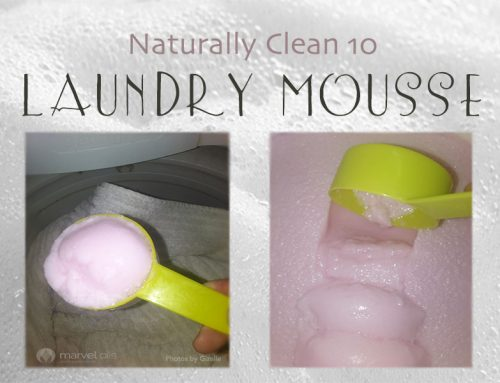 Naturally Clean:  Laundry Mousse