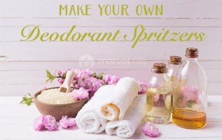 how to make natural deodorant sprays