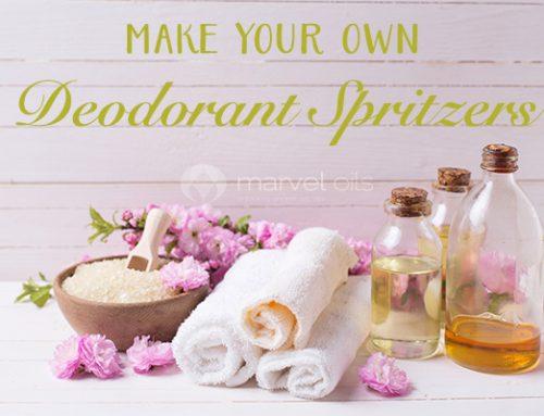 DIY Deodorant Spritzers
