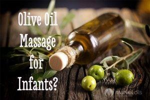 olive oil massage