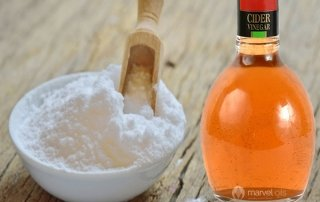 baking soda cider vinegar