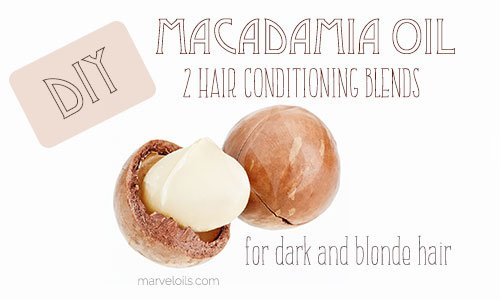 Make Your own Macadamia Oil Hair Conditioner