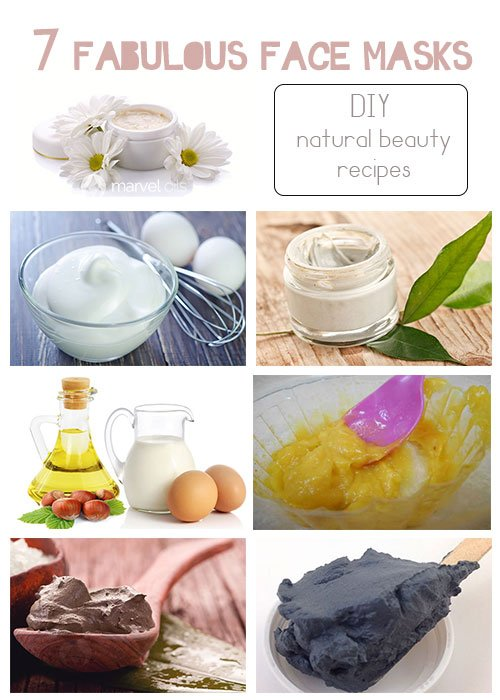 7 Face Mask Recipes