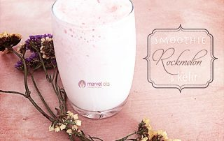 glass of kefir smoothie