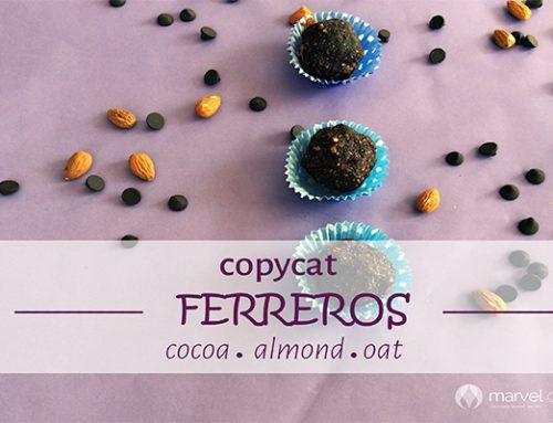 Almost Ferrero – Healthy Chocolate Balls