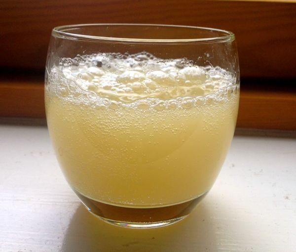 glass of ginger beer