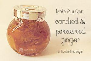 jar of preserved ginger