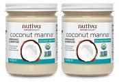 2 jars of nutiva coconut manna