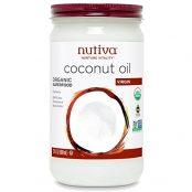 jar of coconut oil nutiva