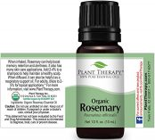 10ml bottle of plant therapy organic rosemary oil