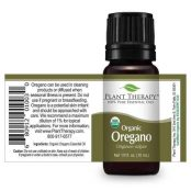 bottle of plant therapy organic oregano oil