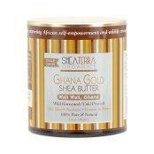 jar of ghana gold shea butter