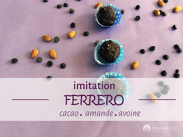 Boules de Chocolate Comme Ferrero