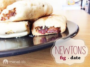fig newtons on plate